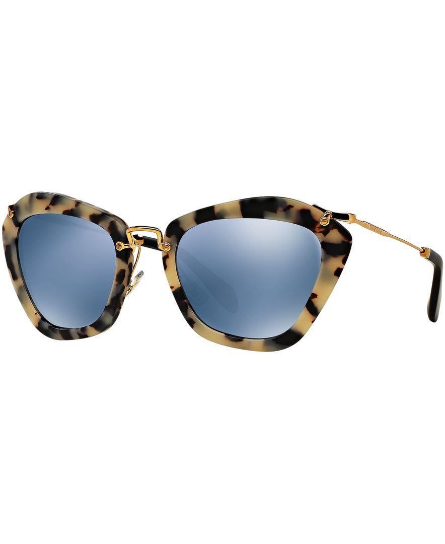 ac9466e5c057 Miu Miu Sunglasses Mu 10ns – Southern California Weather Force