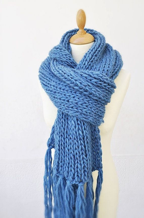 a163930c4b00f This fluffy, oversized knit. | 22 Autumn Scarves That Are Better Than A  Boyfriend