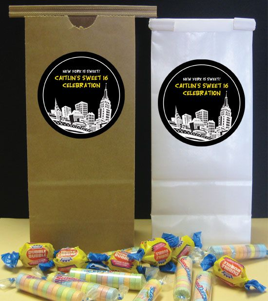new york themed party favors Party411 City and New York Theme