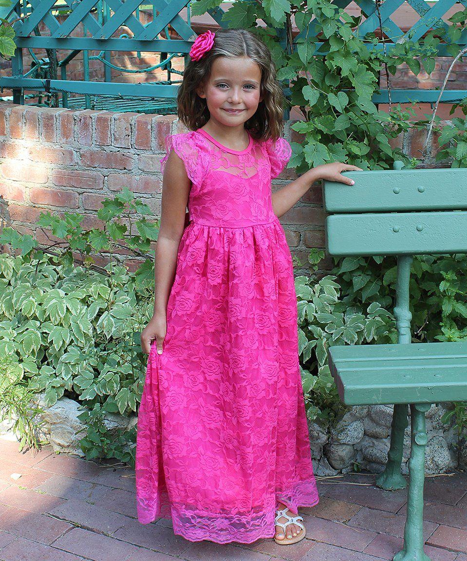 Take a look at this Think Pink Bows Pink Yarrow Stella Dress