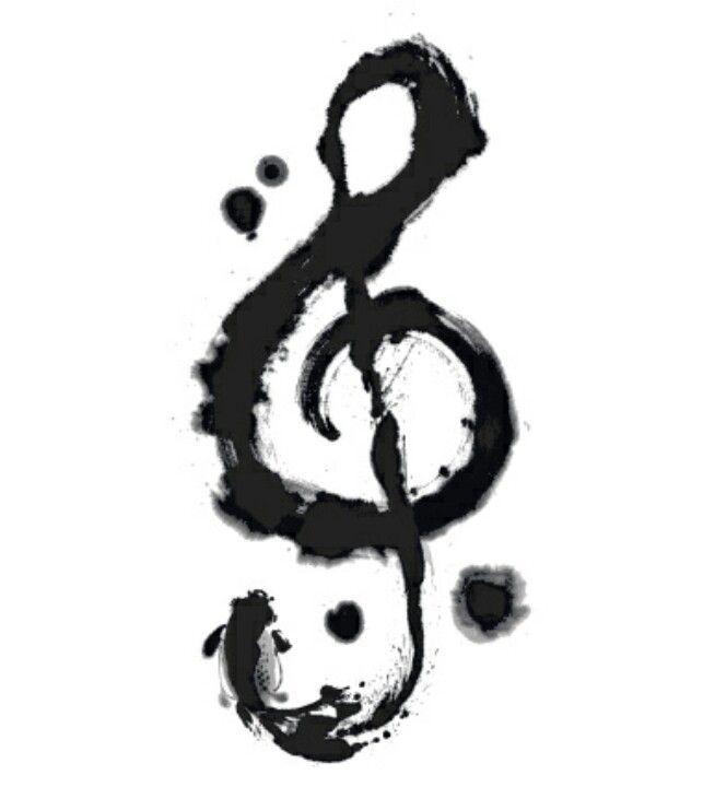 treble clef tattoo idea body d cor pinterest treble clef tattoo treble clef and clef. Black Bedroom Furniture Sets. Home Design Ideas