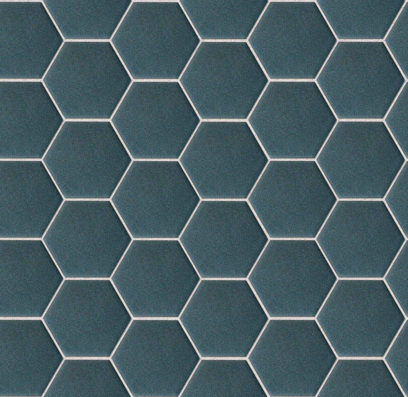 Texture Seamless Mosaico Esagonale Vari Colori Paginacao De