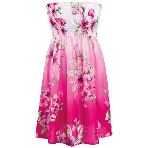 Floral Smock Dress - Matalan | I have no secrets ❤ liked on ...