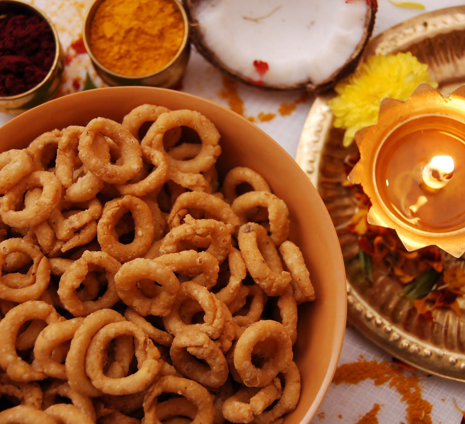 Kobbari chegodilu diwali savoury snacks recipe from the blog archive of indian snack foods recipes indian food raynaovg forumfinder Images
