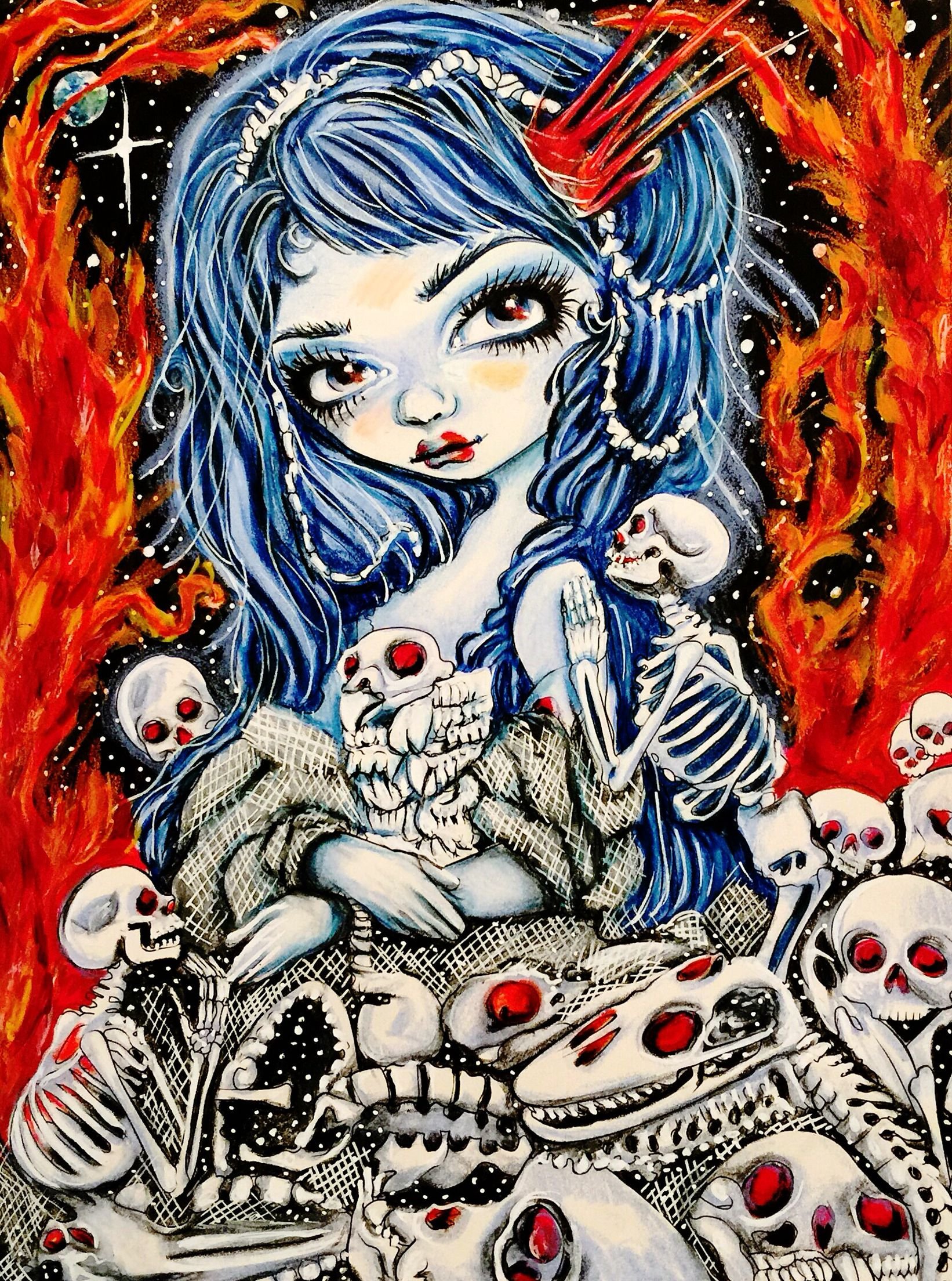 Coloring in Jasmine Becket-Griffith Coloring Book ...