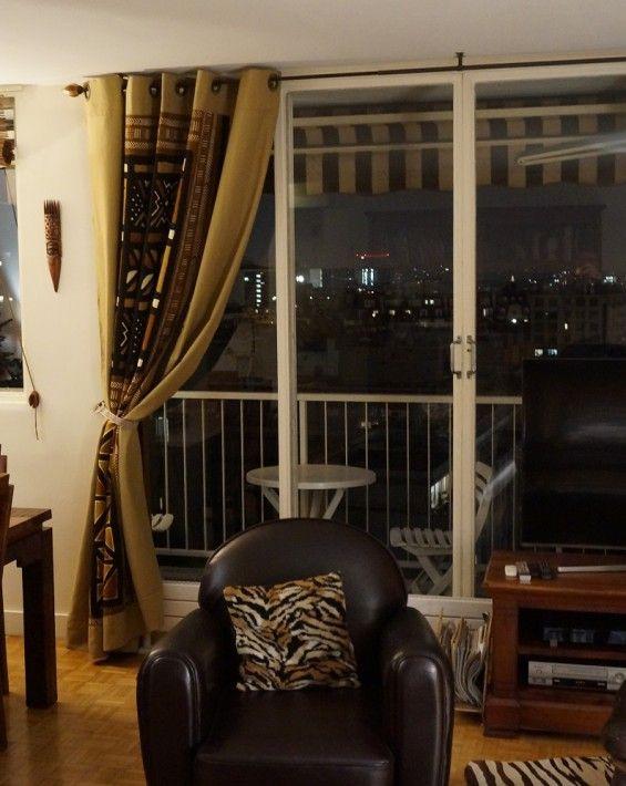 rideaux bogolan id es d coration d 39 int rieur africain pinterest deco africaine mali et. Black Bedroom Furniture Sets. Home Design Ideas