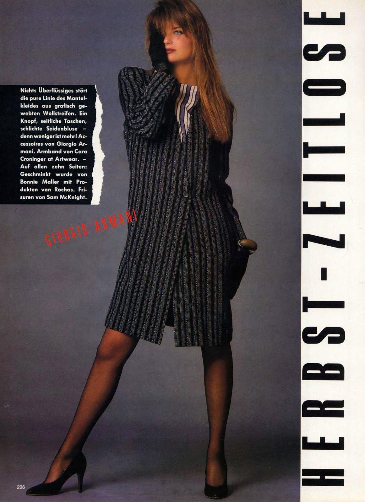 """Paulina Porizkova """" HerbstZeitlose """" by Eric Boman Vogue"""