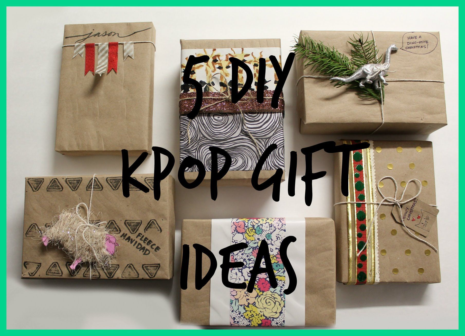 DIY Kpop Gift Guide