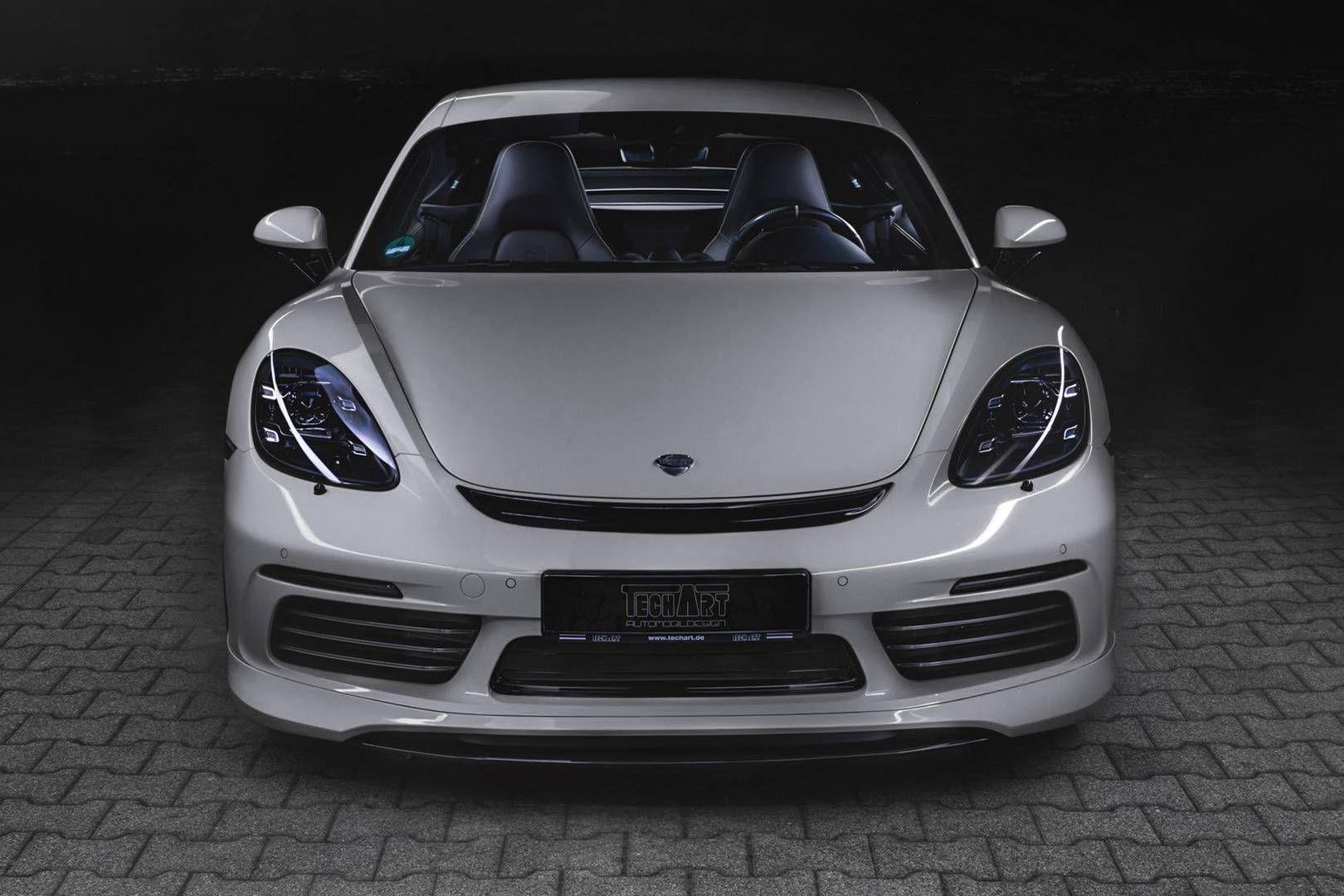 Комплект доработок для Porsche 718 от знаменитого ателье Techart