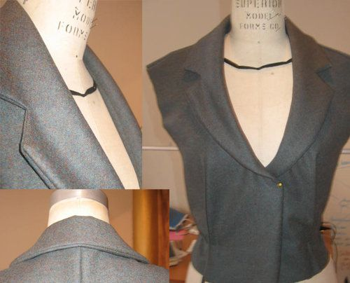 How to sew a notched jacket lapel | sewing hacks, sewing collars.