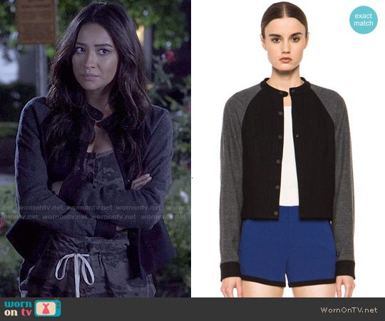 48ae9230645 Emily s camo jumpsuit on Pretty Little Liars. Outfit Details  http    wornontv