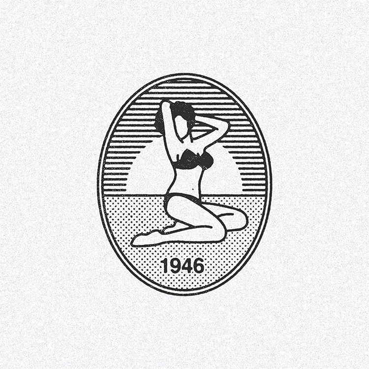 July 5, 1946 - Louis Reard's bikini swimsuit design debuts at Paris fashion show. Follow In A Circle for more pins: www.inacircle.co