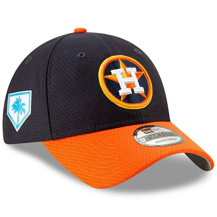 the latest a3018 9c46b Men s Houston Astros New Era Navy Orange 2019 Spring Training 9TWENTY  Adjustable Hat, Your Price   29.99