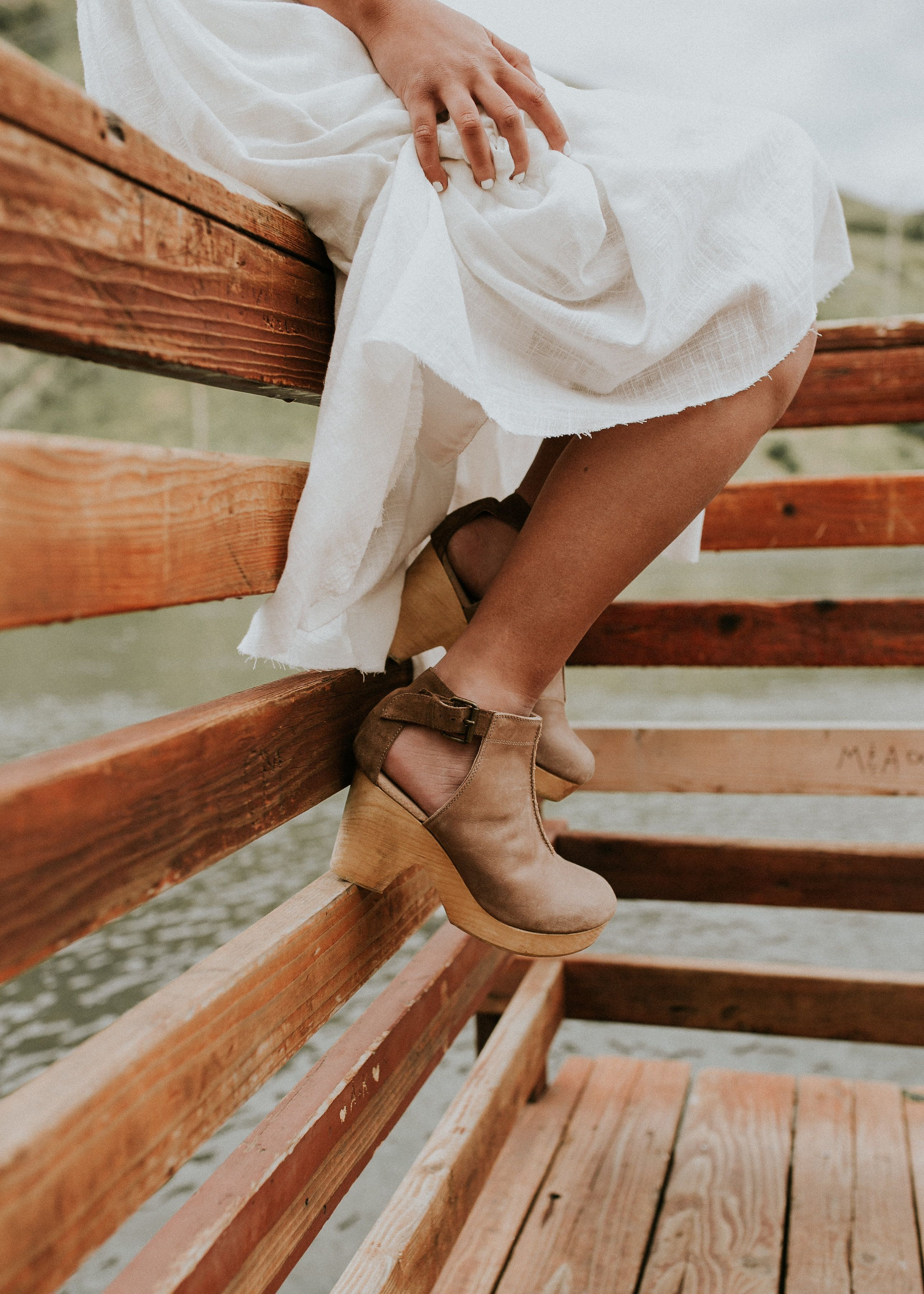 8c979a883aec The Amber Orchard Clog in Taupe by Free People