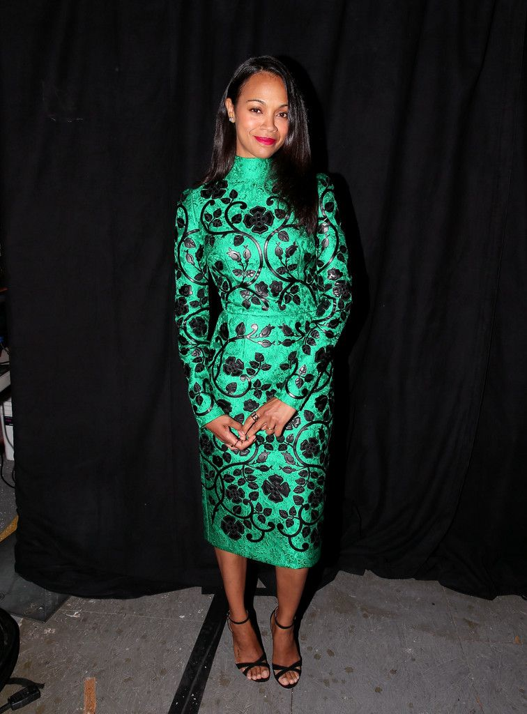 Zoe Saldana Photos - Spike TV's Guys Choice 2015 - Backstage and Audience - Zimbio