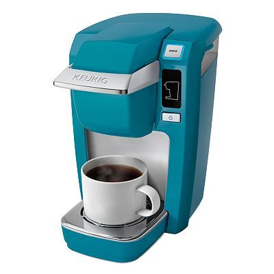 Keurig MINI Plus Personal Coffee Brewer- aqua! to anyone who cares i want this for christmas!!!