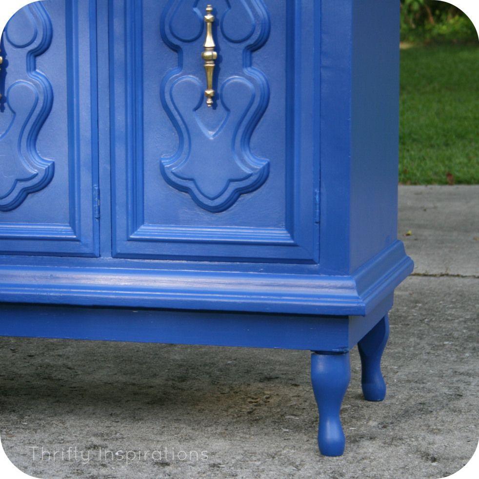 Painted furniture legs