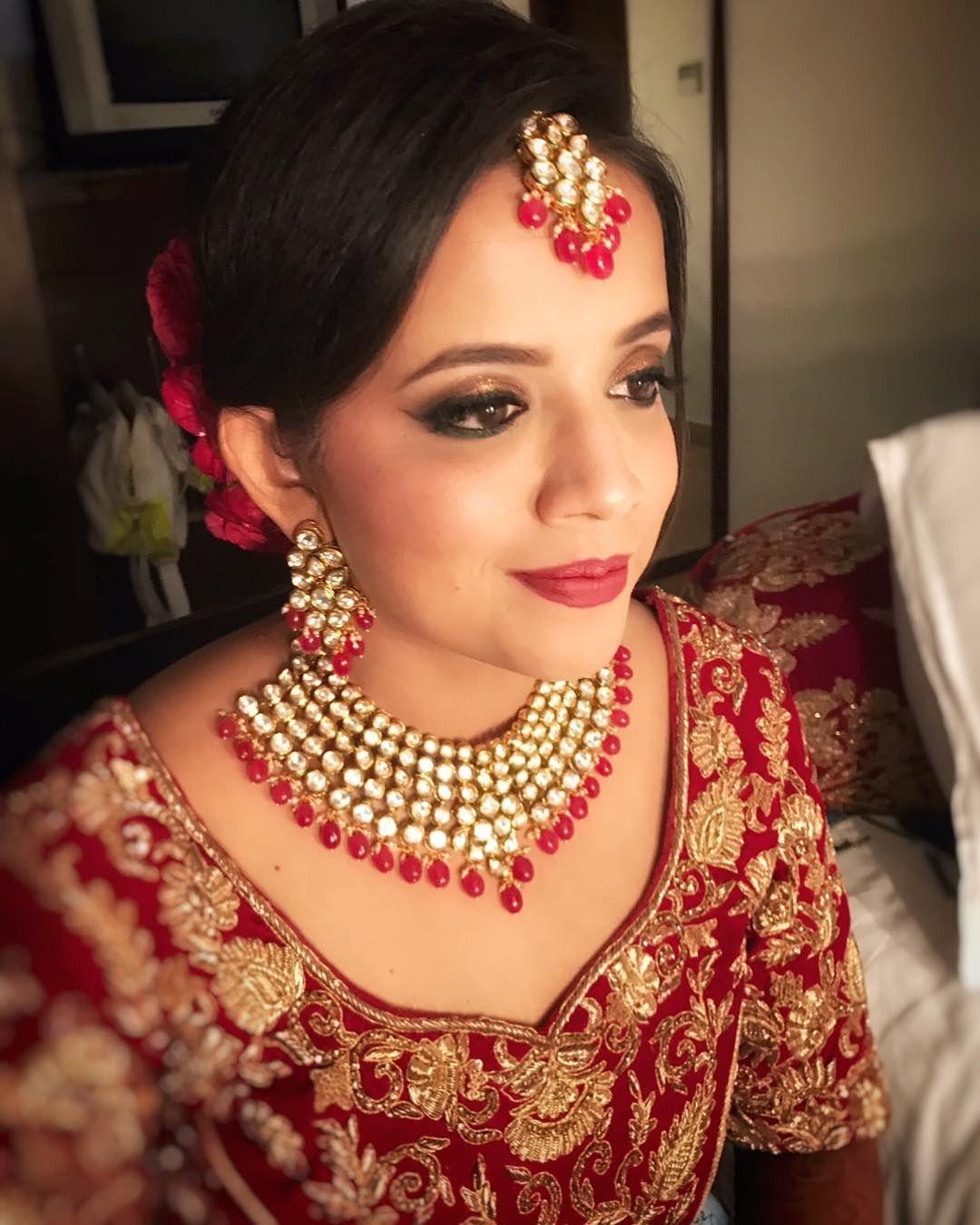 The Crimson Bride! Best bridal makeup, Bridal makeup