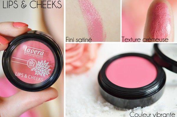 Lips & Cheeks de Lavera, quand maquillage rime avec naturel