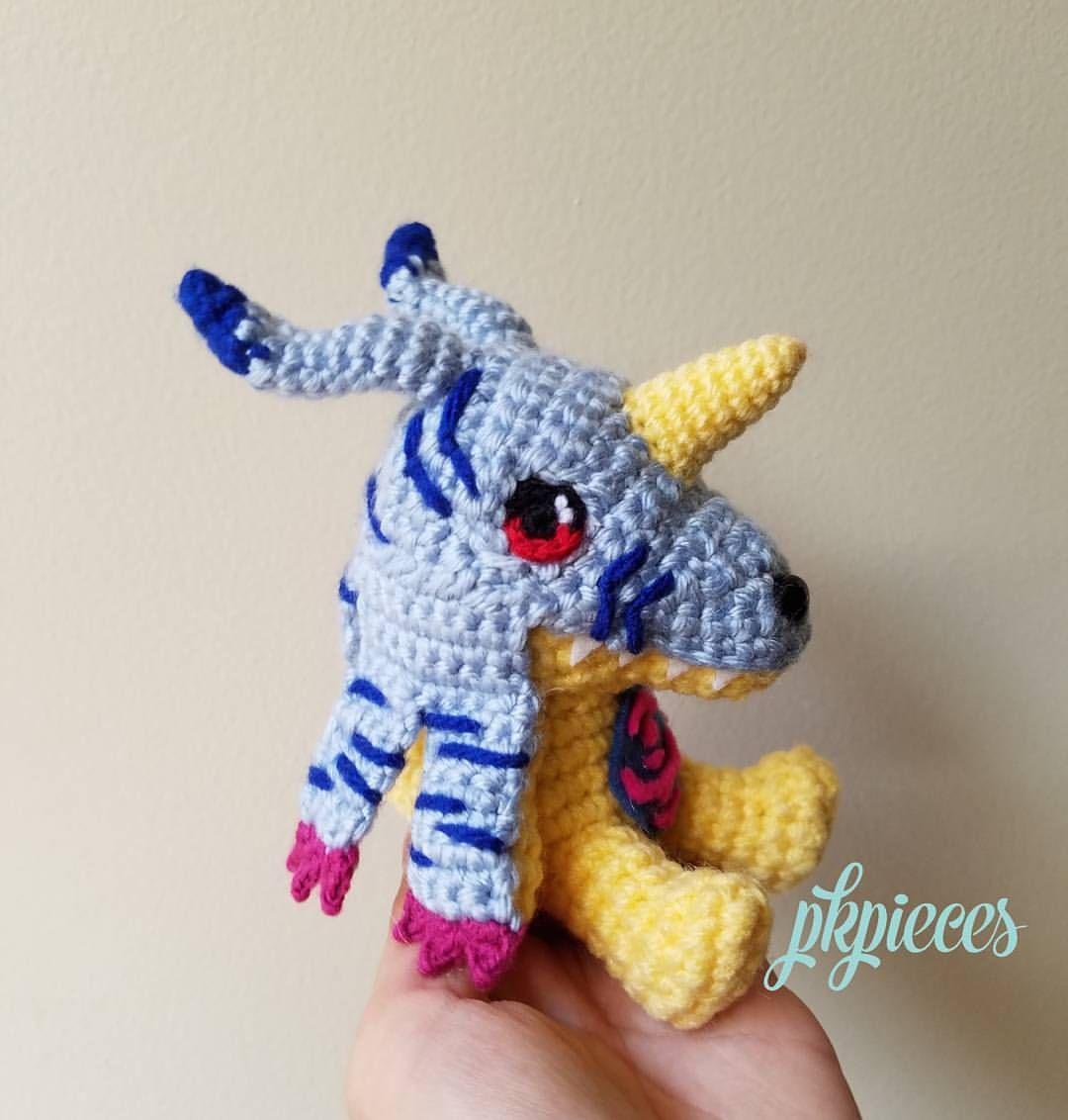 Digimon Gomamon Amigurumi Pattern - 1Up Crochet   1132x1080