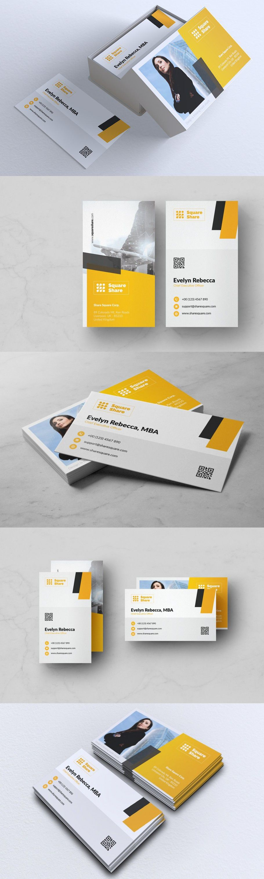 Minimalist Business Card Vol 17 Minimalist Business Cards Business Card Design Name Card Design
