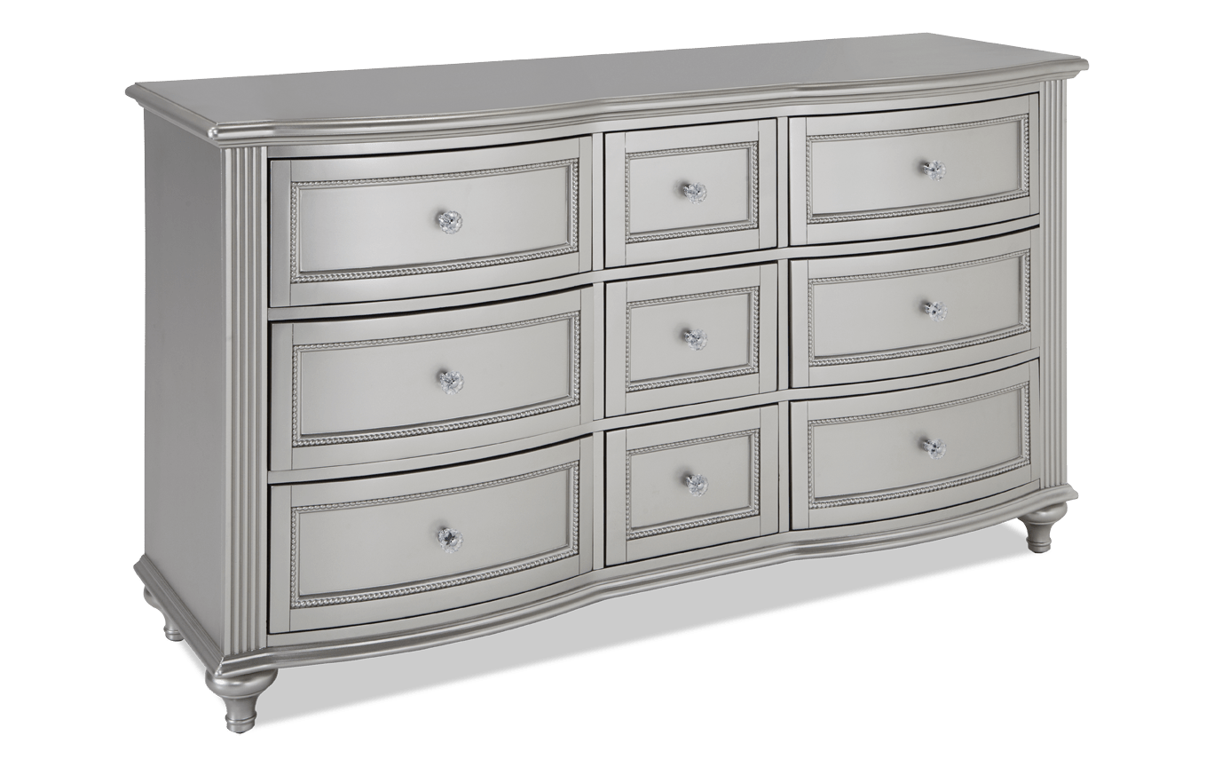 Madelyn White Dresser In 2021 Bob S Discount Furniture Girls Bedroom Furniture Grey Bedroom Furniture [ 864 x 1368 Pixel ]