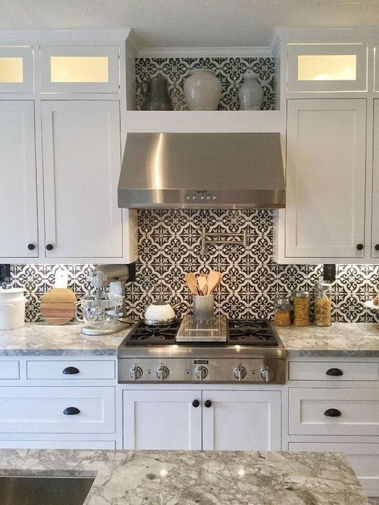 gorgeous and creative tile ideas for kitchen backsplashes