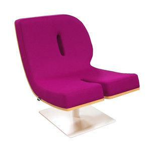 R Lounge Chair Purple, £1,480, now featured on Fab.