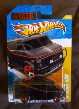 Rare Hot Wheels Details For Hot Wheels Gmc A Team Van Rare