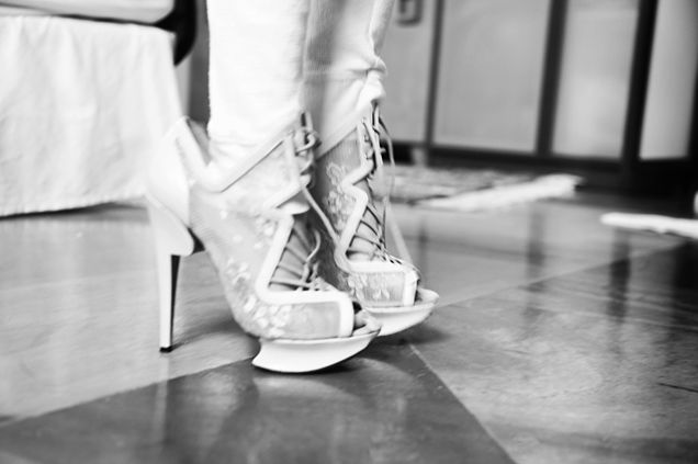 Like mother, like daughter (lace-up Nicholas Kirkwood confections)  http://www.theglow.com/jenne-lombardo/?i#30