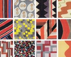 patterns by Sonia Delaunay