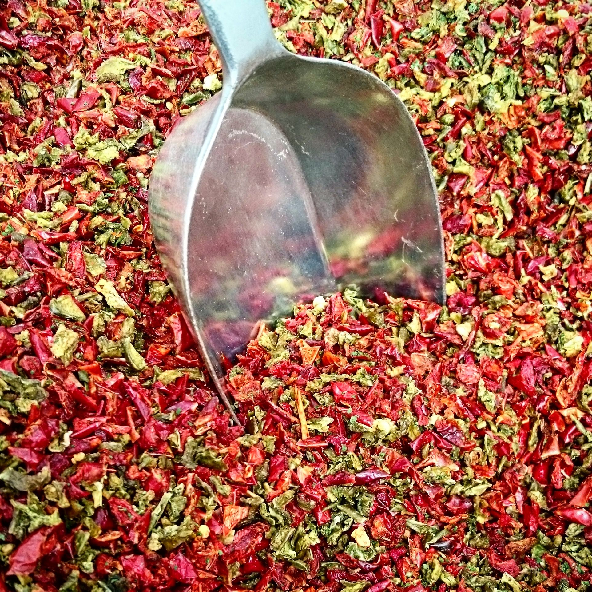 Hot stuff coming through! We're packing hot sauce spices for next month's Friday Night Curry Veg - Jamaican Vegetable Curry #hot