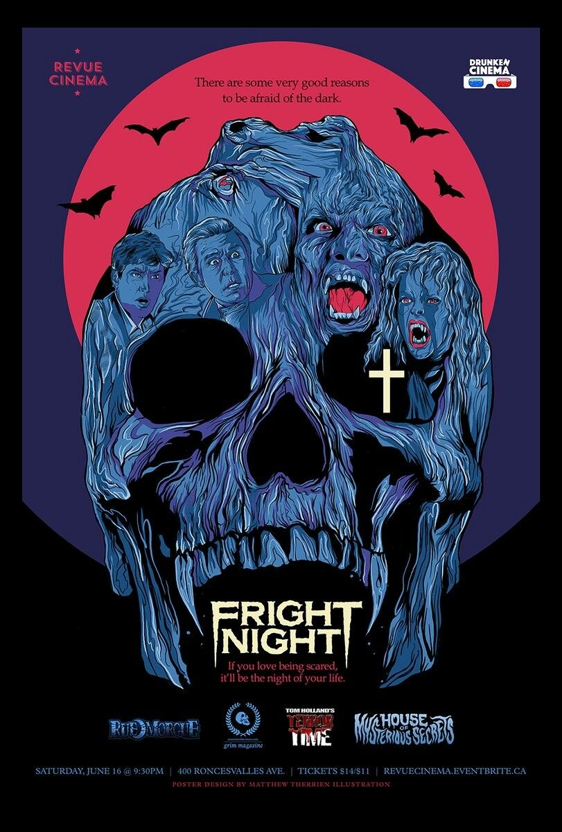 Fright Night 1985 With Images Horror Posters Retro Horror