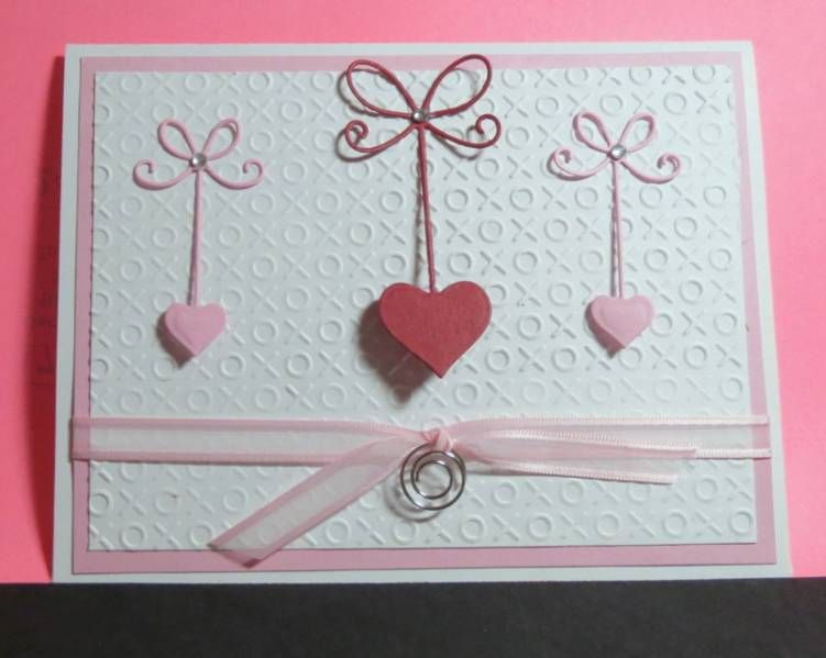 Simple valentine by bookmama - Cards and Paper Crafts at Splitcoaststampers
