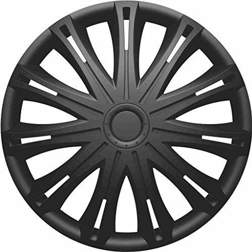 Fiat 500 2008 On 14 Inch Spark Black Car Alloy Wheel Trims Hub
