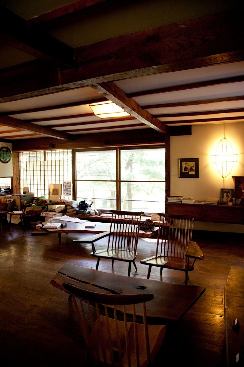 George Nakashima studio New Hope PA