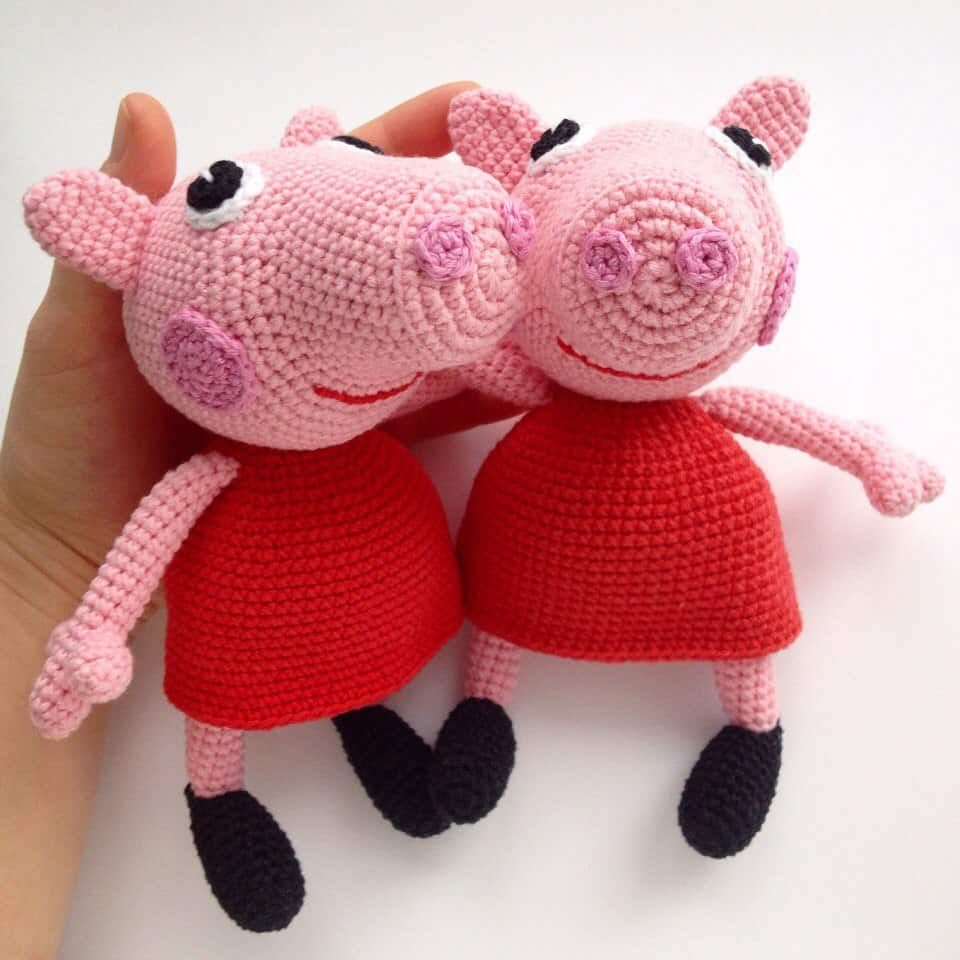 Peppa Pig - free crochet pattern | Famous cartoons, Cartoon and Crochet