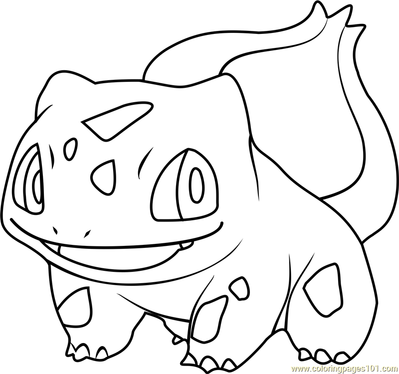Pokemon Bulbasaur Coloring Pages Pokemon Coloring Pages Pokemon Coloring Free Coloring Pages