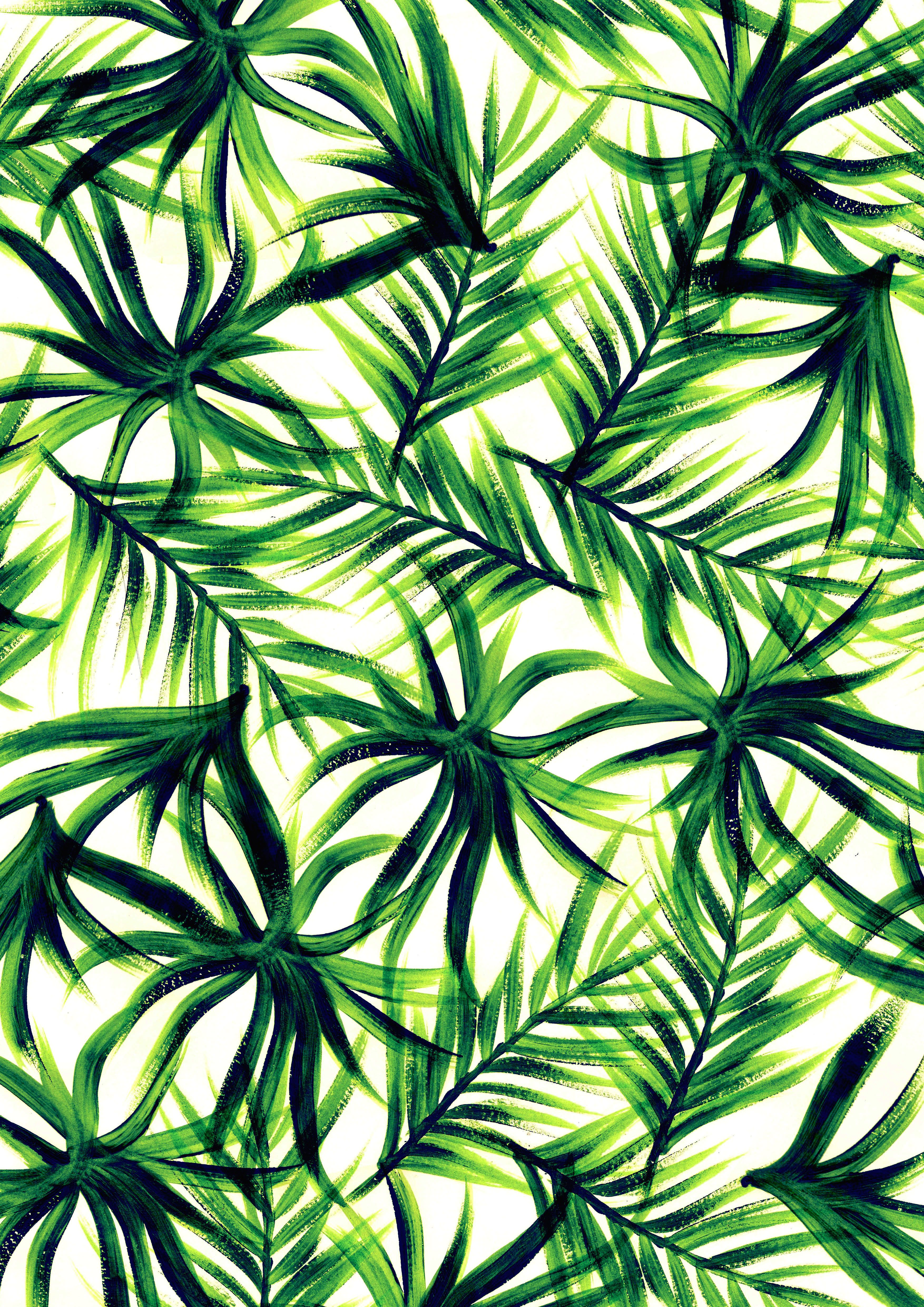 tropical wallpaper pattern - photo #16