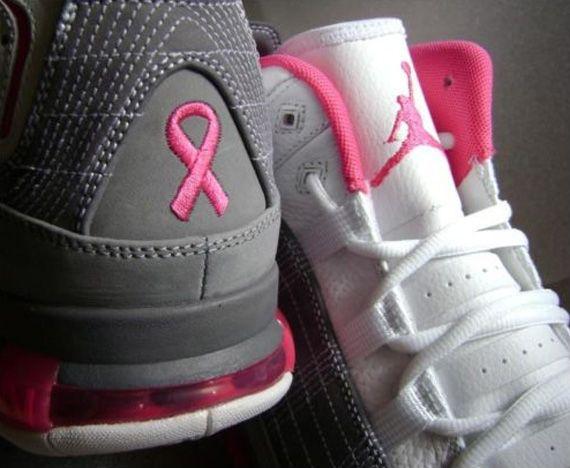 4282c994e08ce Jordan Take Flight 'Think Pink' Sample - SneakerNews.com | Breast ...