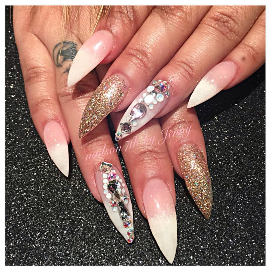Variety Of Nail Art By Yours Truly: Pin By Buttaflyskye On Stiletto Nails