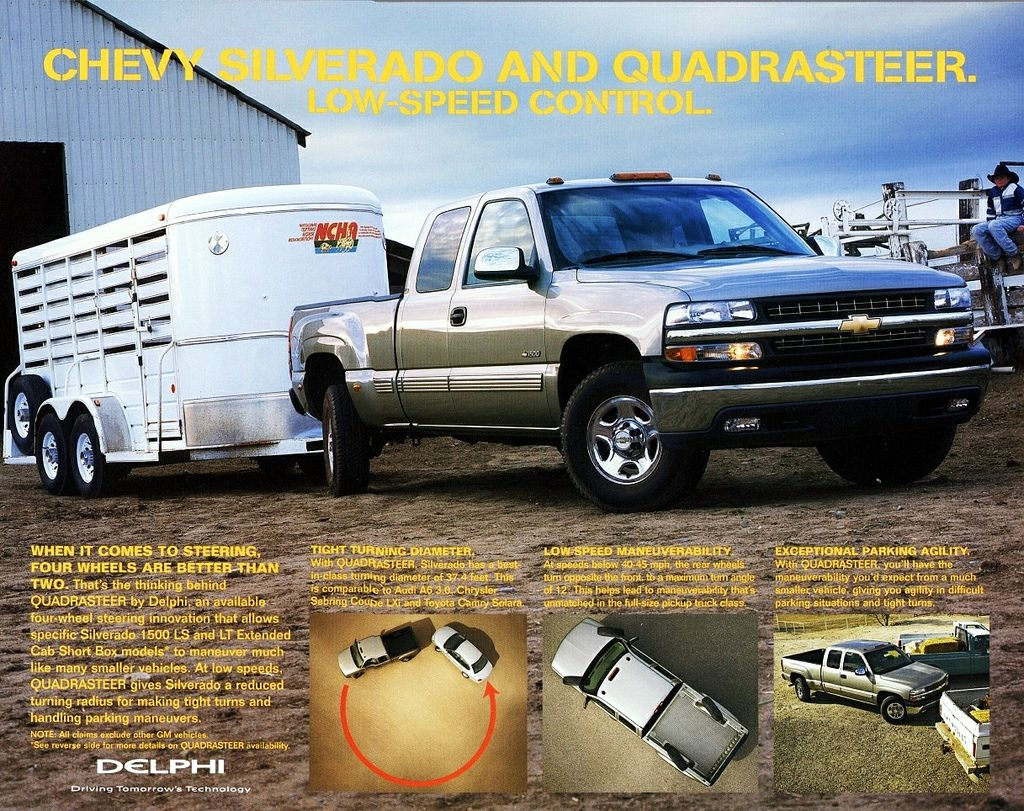 2002 Chevrolet Silverado With Quadrasteer Chevrolet Chevrolet
