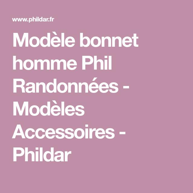 Modele Bonnet Homme Phil Randonnees Modeles Accessoires
