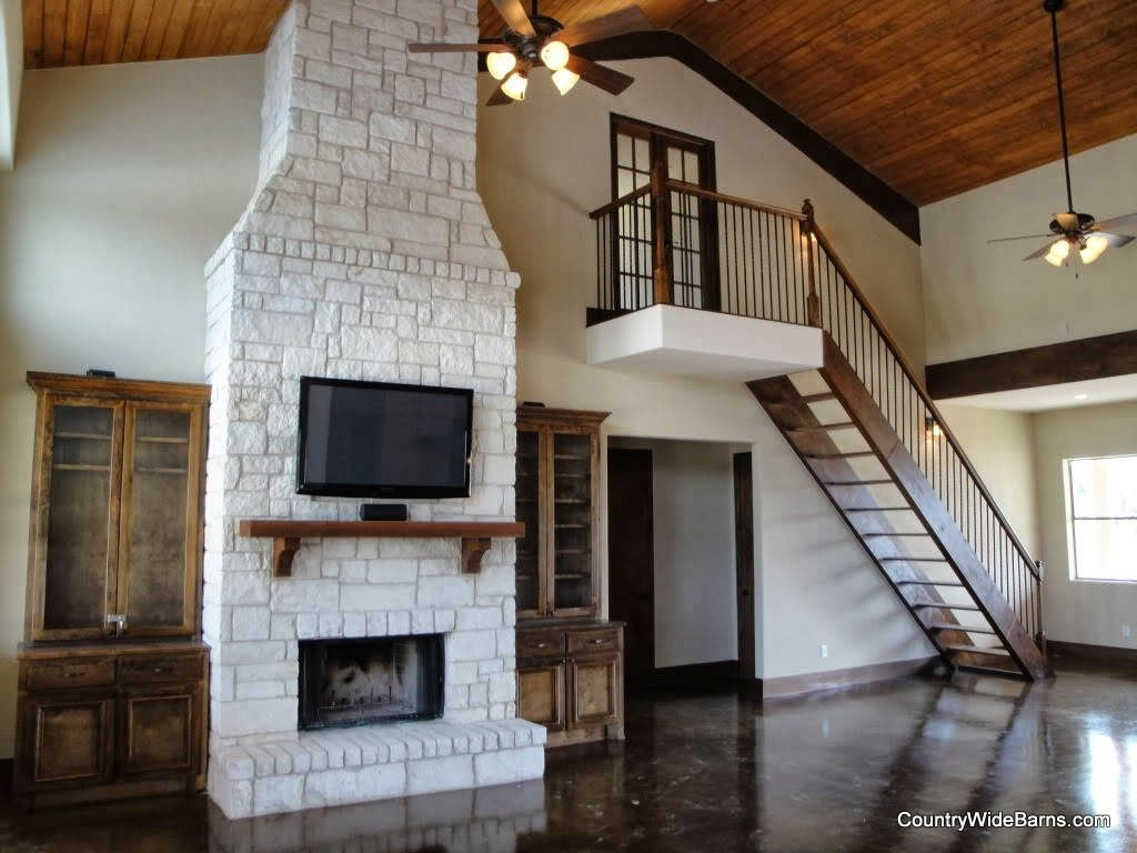 Barndominium Interior Pictures Amp Graphs Tennessee Builders