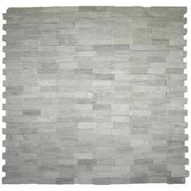 Solistone 10 Pack 12 In X 12 In Light Gray Natural Stone