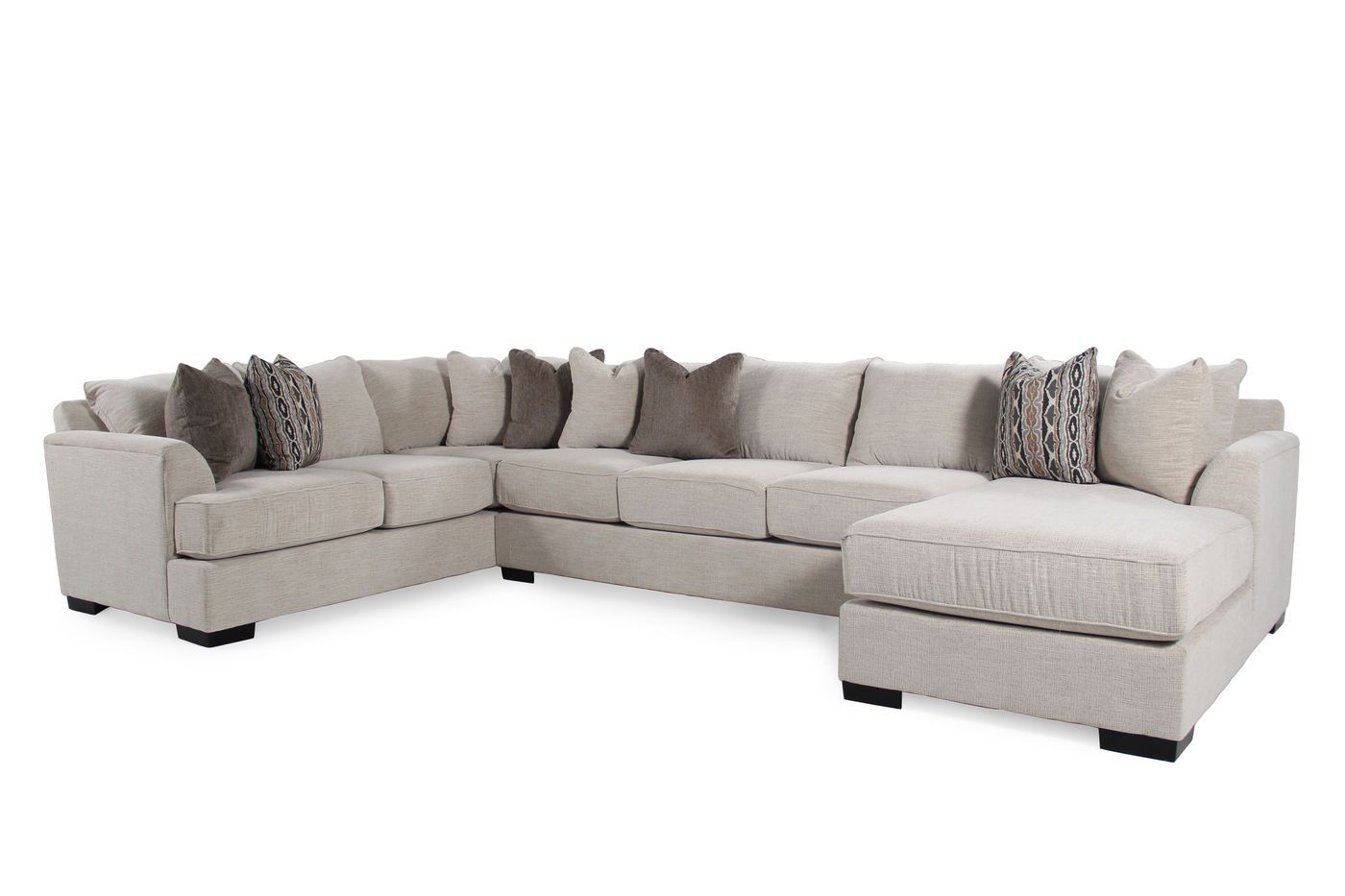 michael nicholas commander sectional mathis brothers furniture for the home pinterest brothers furniture sectional sofa and