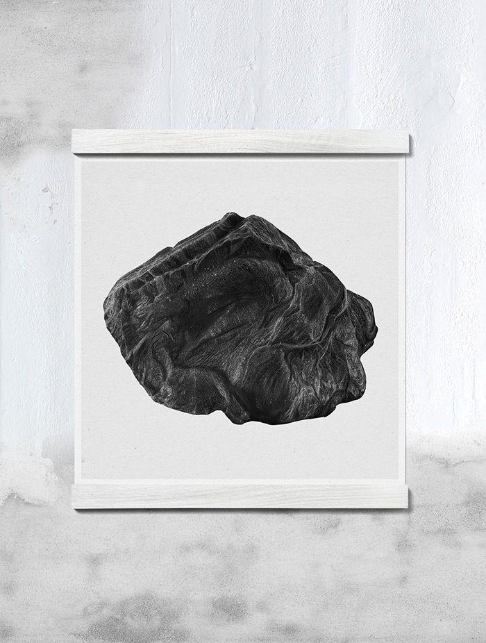 Image of rock a 50x50 by børge bredenbekk