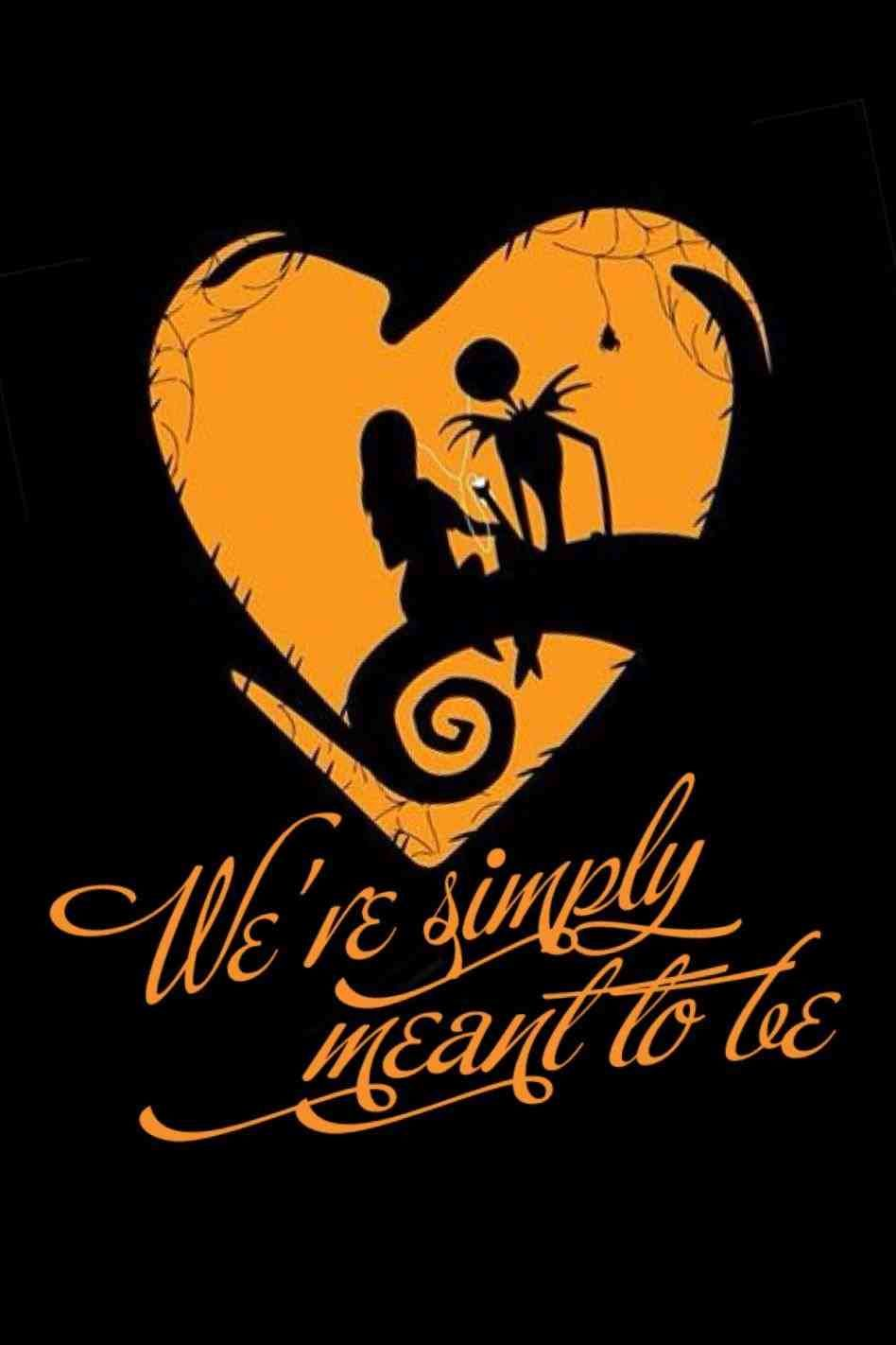 The Nightmare Before Christmas Jack And Sally Together Forever