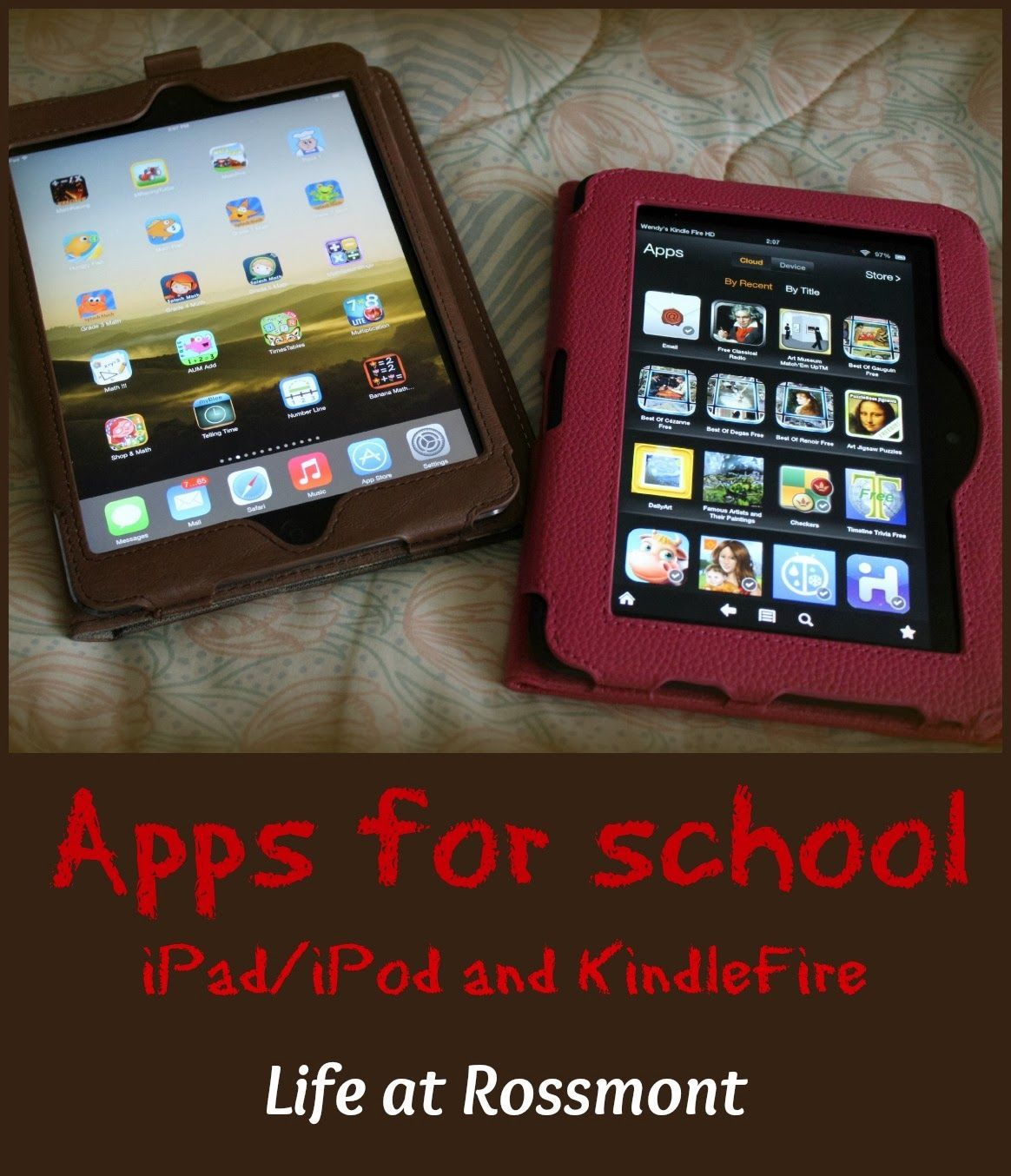 Apps for School (iPad and Kindle Fire) | Technology | Apps