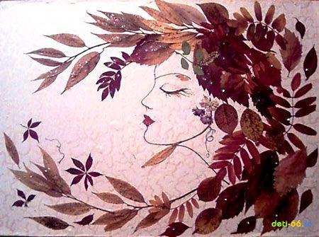 портрет осени из листьев: 17 тыс изображений найдено в ...